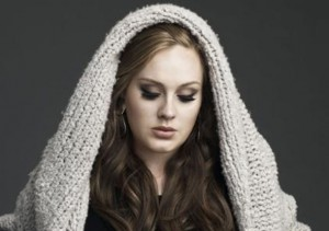 "Adele scored four American Music Award nominations for her hit album, ""21""."