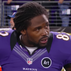 10 Yard Fight - Torrey Smith Outshines Ugly Referee Display