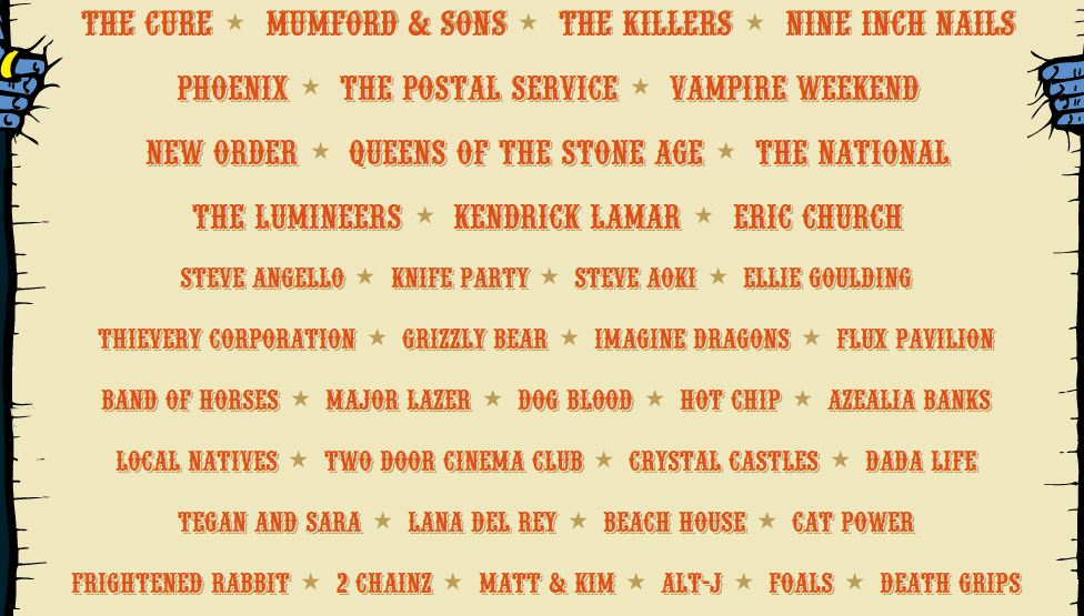 Lolla Lineup