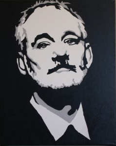 Bill Murray art
