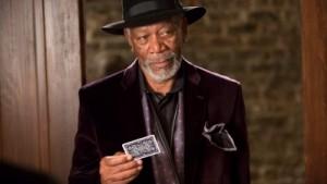 Morgan Freeman does look pretty dapper, though