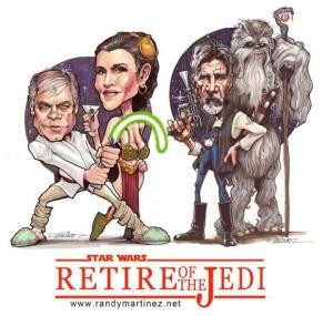 retire the jedi