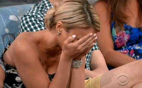GinaMarie crying