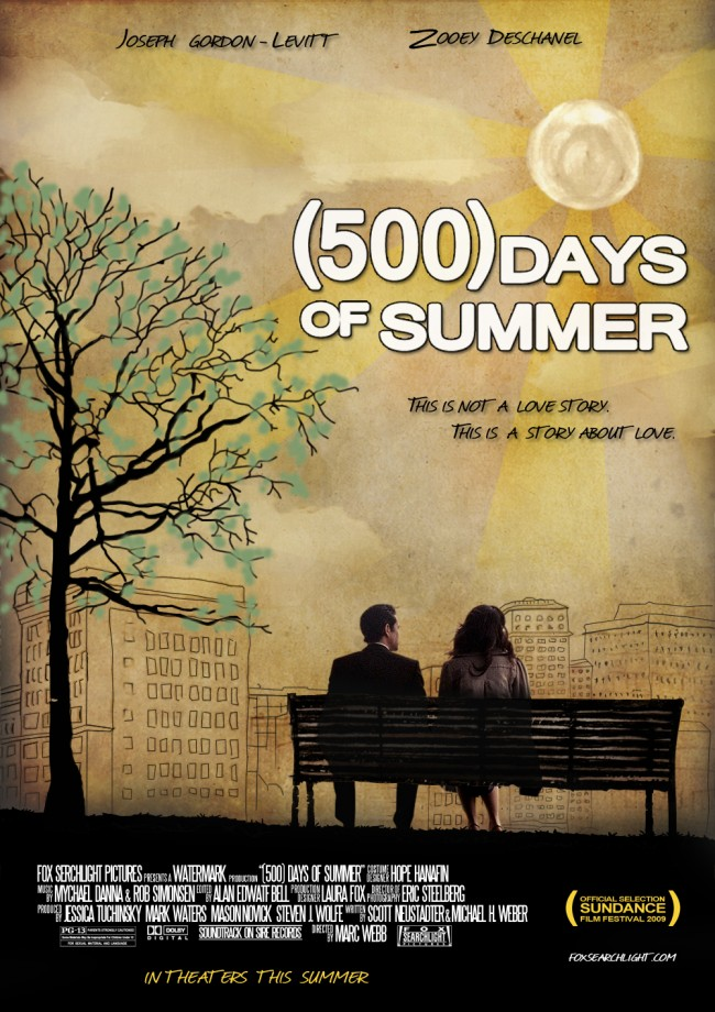 500 Days poster