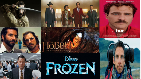 Fall Movie Preview banner - November-December