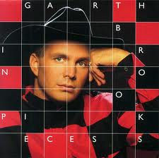 "Figuring out which of Garth Brooks' album covers was ""In Pieces"" was not easy."