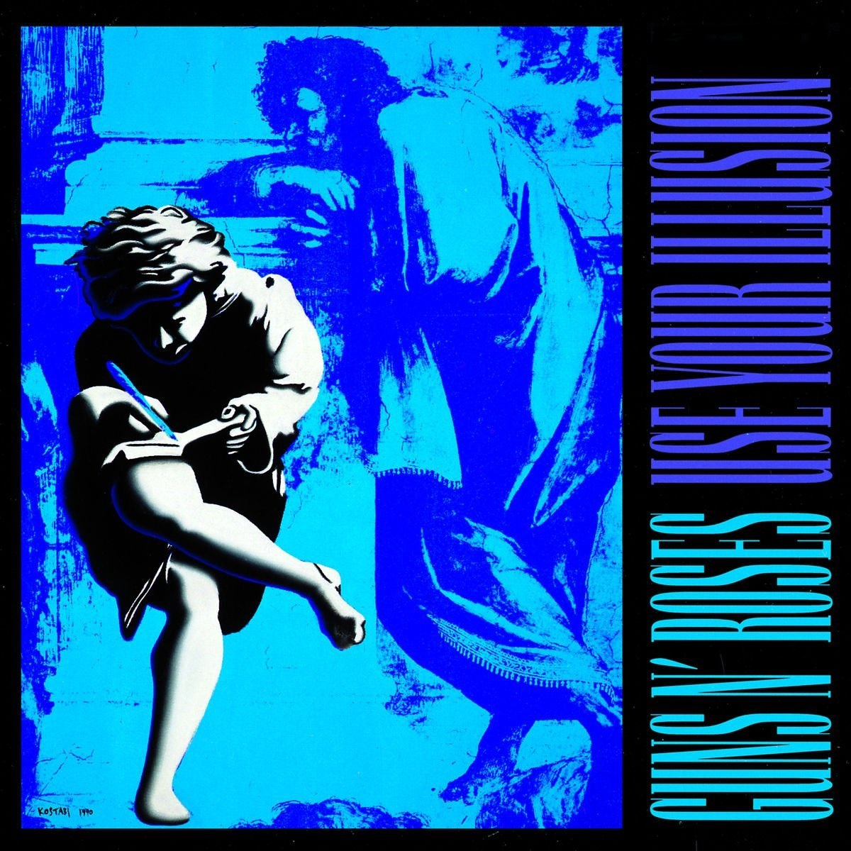 Guns n Roses Use Your Illusion cover