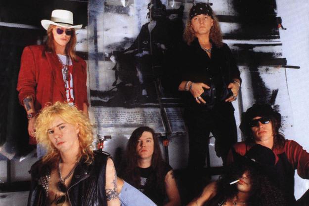 Guns n Roses Use Your Illusion promo
