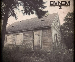 "The cover of Eminem's new album, ""The Marshall Mathers LP 2."""