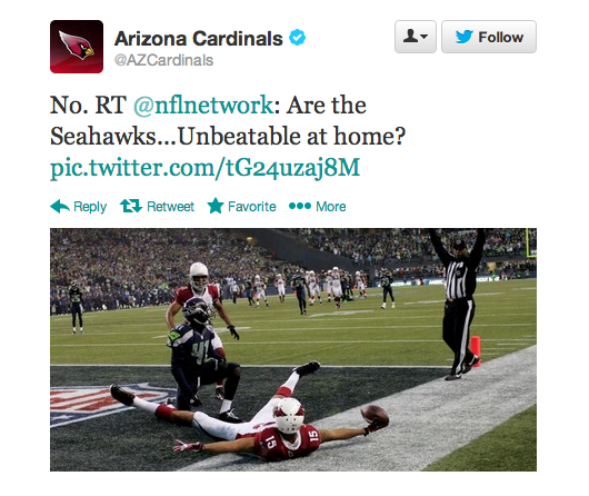 Arizona Cardinals Twitter
