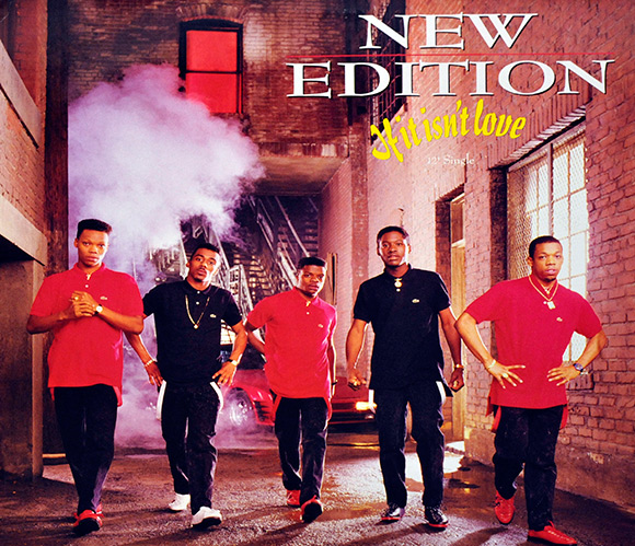 New Edition Lost In Love - The Best Of Slow Jams
