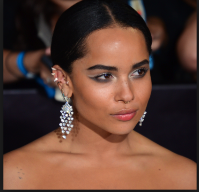 actress and singer Zoe Kravitz