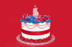 Today I Turn 5: Where's My Cake?